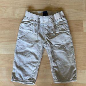 Baby Gap Light Tan Pull On Corduroy Pants 6-12 M